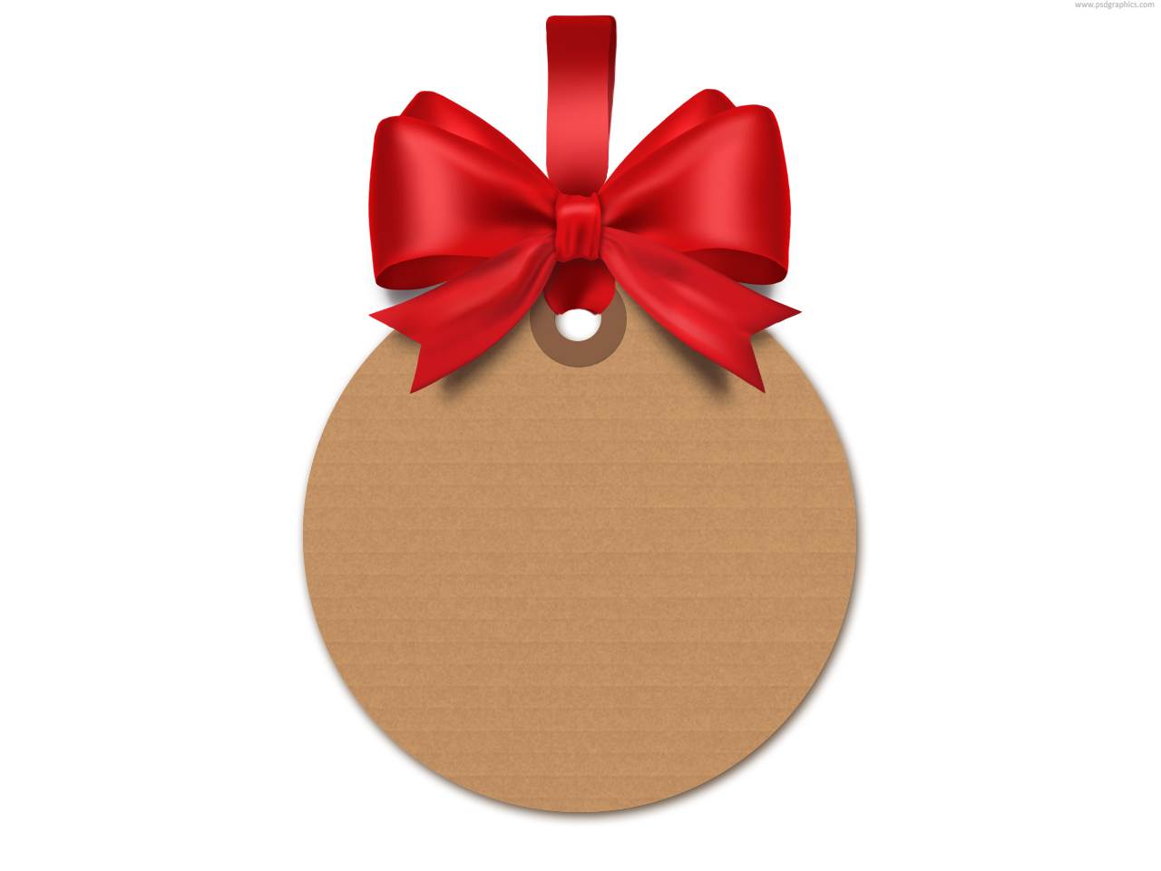 Gift Tag PNG - 59249