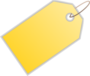 Gift Tag PNG - 59252