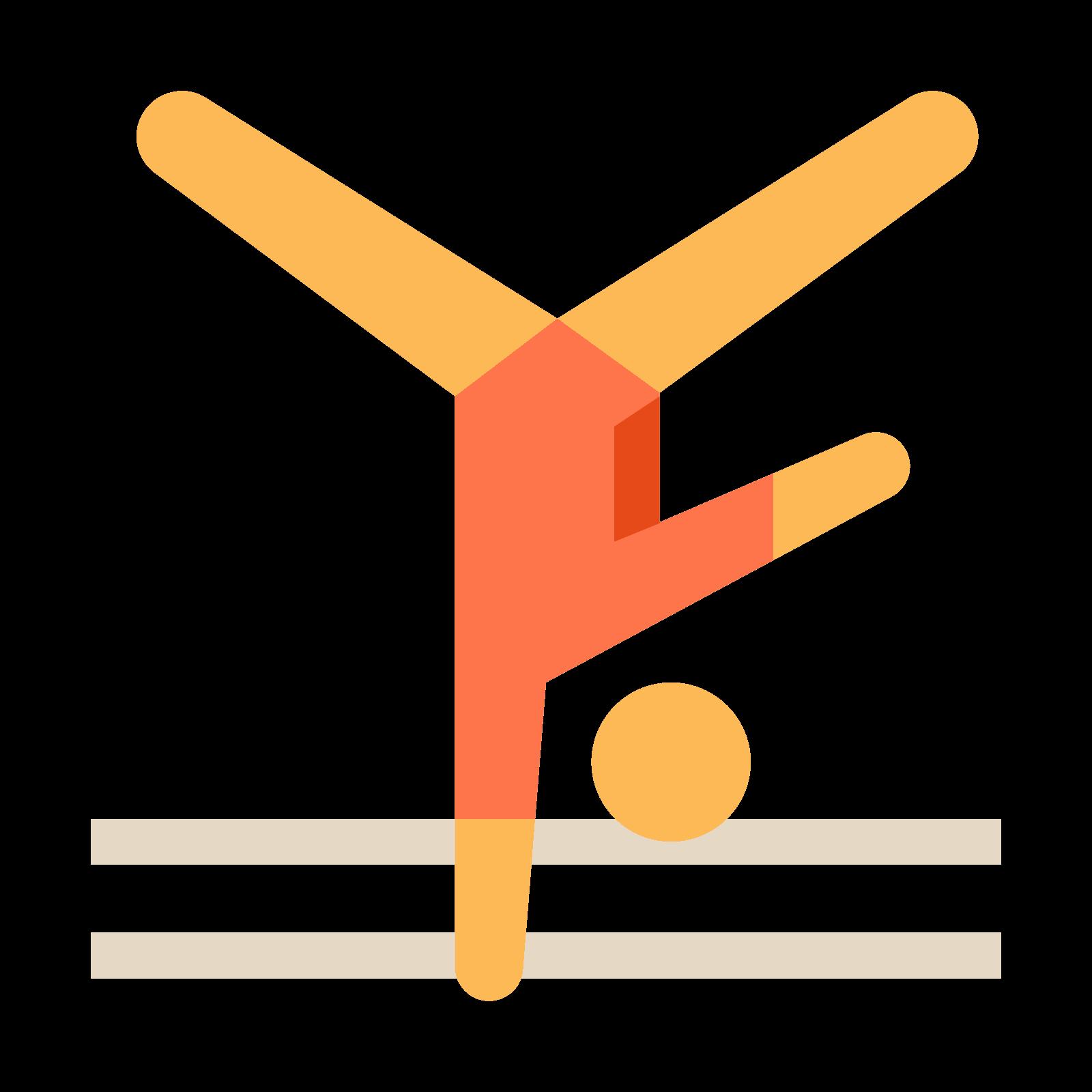 Gimnastyka sportowa icon. PNG 50 px - Gimnastyka Sportowa PNG