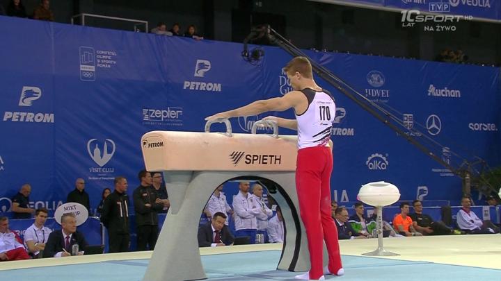 Gimnastyka sportowa - Mistrzostwa Europy, Cluj - Finał wieloboju mężczyzn - Gimnastyka Sportowa PNG
