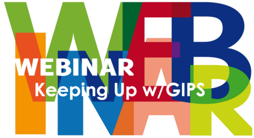 Announcing our u201cKeeping Up w/GIPS(r) Webinaru201d - Gipsarm PNG