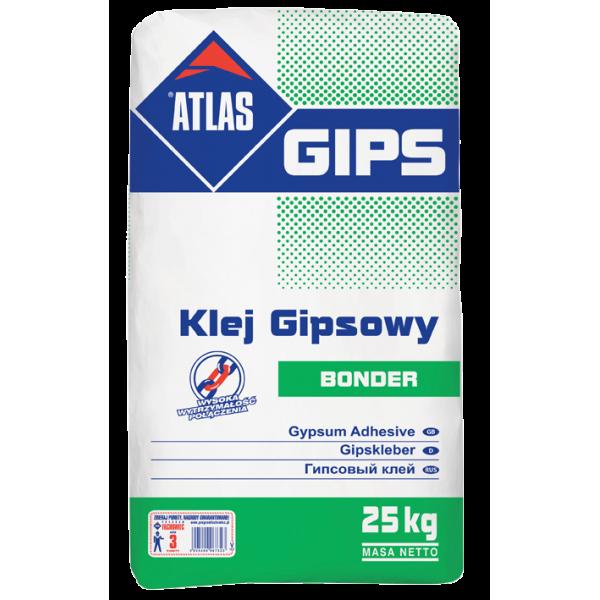 ATLAS GIPS BONDER - 25kg - Gipsarm PNG