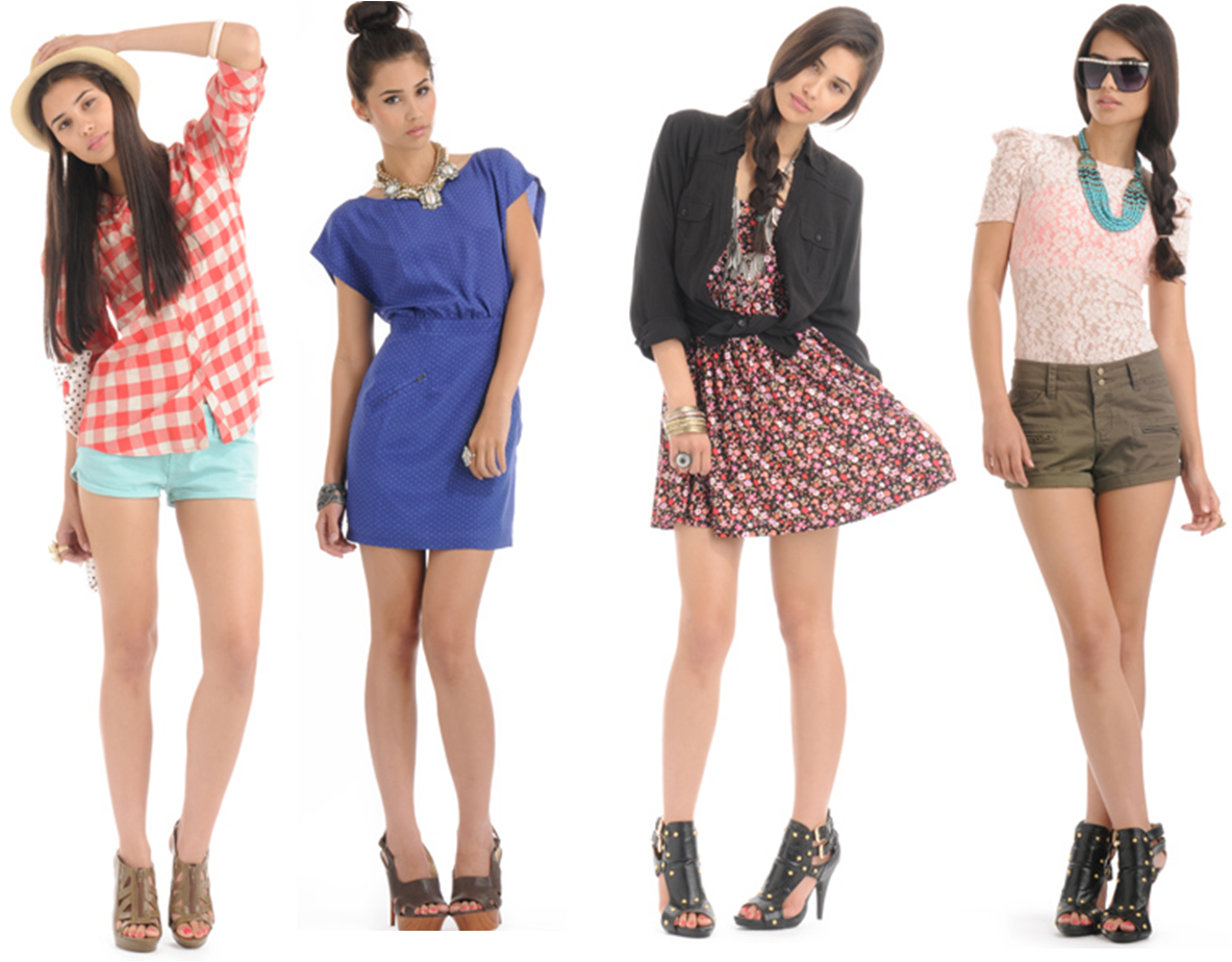 Girl In Summer Clothes PNG - 164571