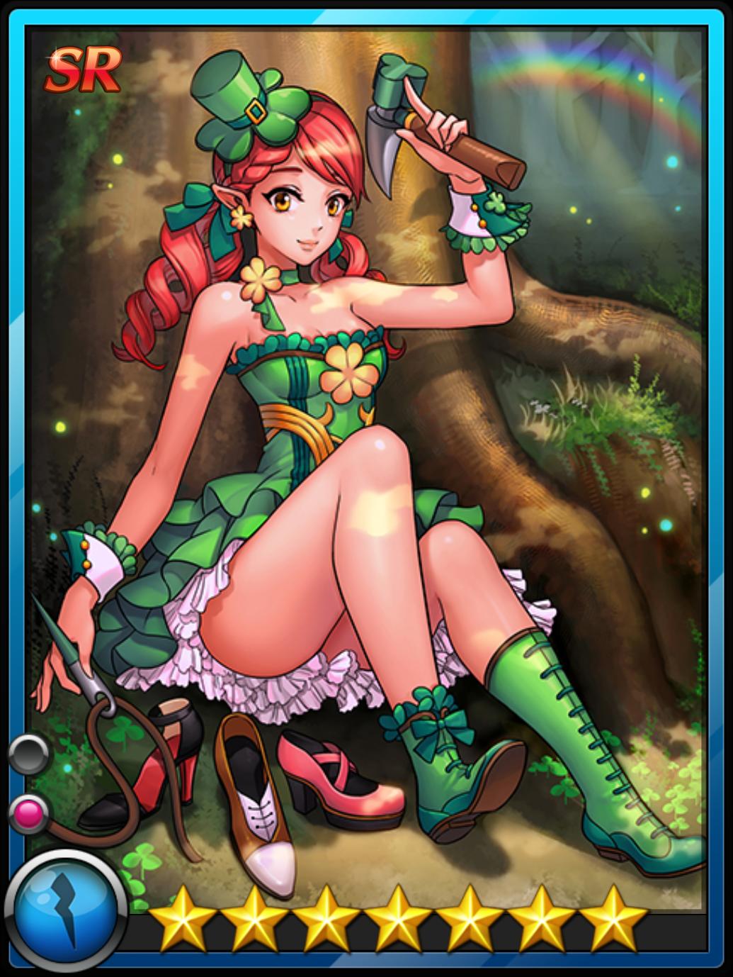 Leprechaun Girl.png - Girl Leprechaun PNG