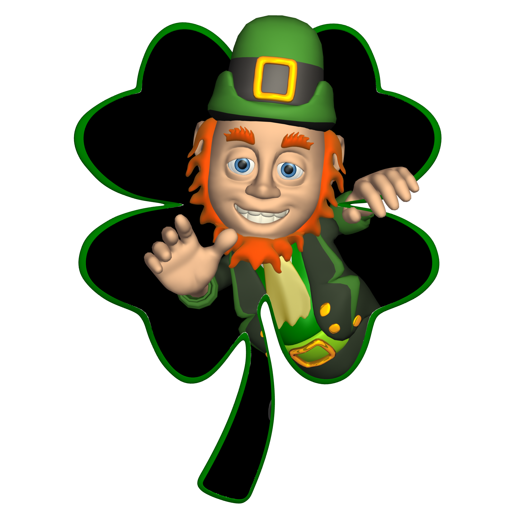 Leprechaun Tattoos, Designs And Ideas : Page 5 - Girl Leprechaun PNG