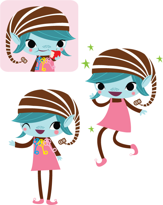 Brownie logo clip art | Brownie Elves for The Girl Scouts of America (2008) - Girl Scout Brownie Elf PNG