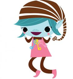 Girl - Girl Scout Brownie Elf PNG