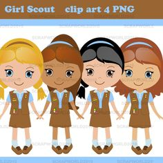 Girl Scout Brownie Elf Clip Art | Related Pictures clipart girl scouts - Girl Scout Brownie Elf PNG