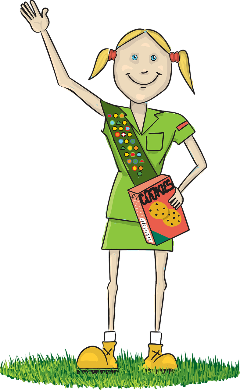 Girl Scout Daisy PNG HD - 149374