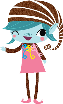 Brownie Elf photo brownie-elf.png - Girl Scout Daisy PNG HD