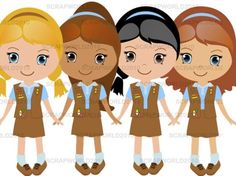 Girl Scout Daisy PNG HD - 149378