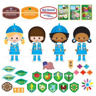 Girl Scout Daisy PNG HD - 149363