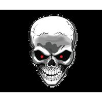 Skull File PNG Image - Girl Skull PNG HD