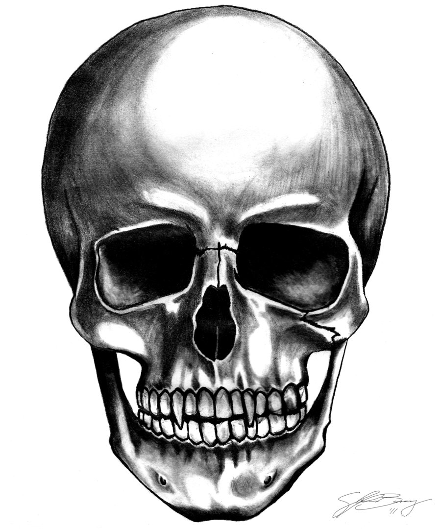 Girl Skull PNG HD