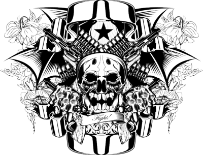 Skull Tattoo Picture PNG Image - Girl Skull PNG HD