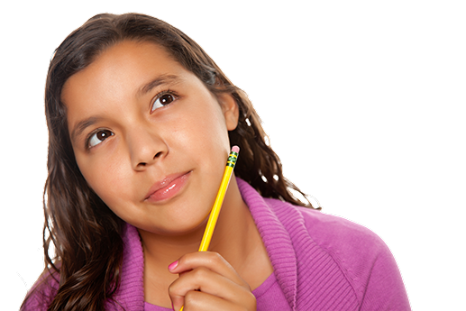 Girl Thinking PNG HD - 122390