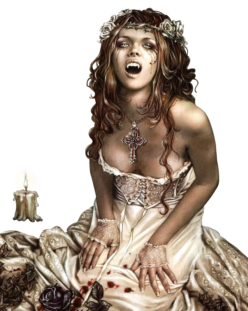 Girl Vampire PNG - 56750