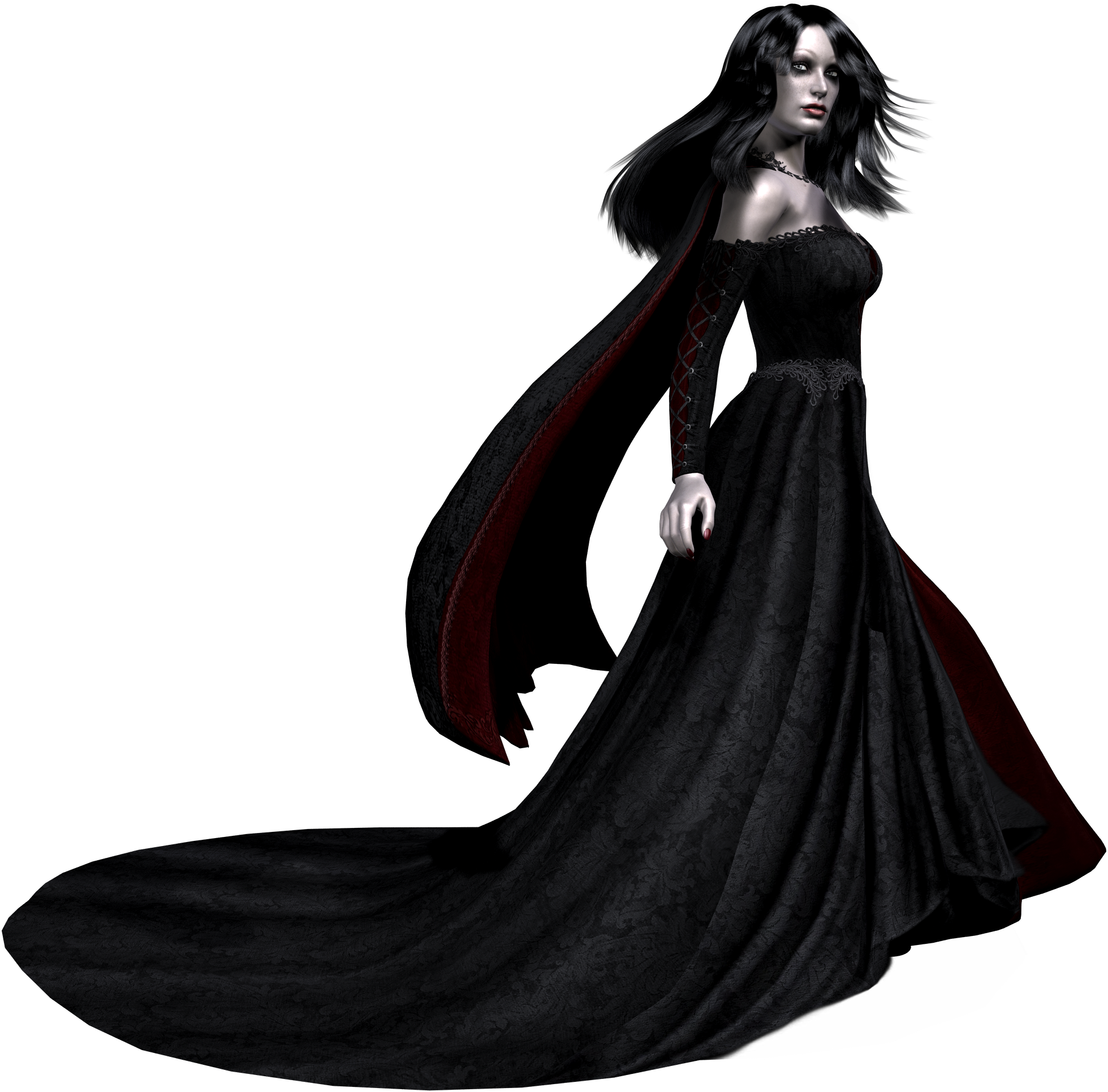 Girl Vampire PNG - 56754