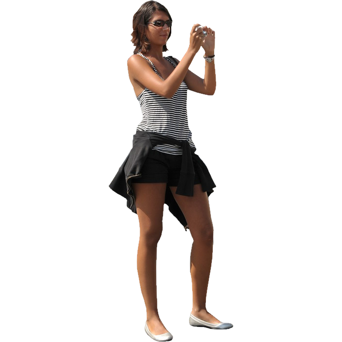 Girl with Camera | Immediate Entourage - Girls PNG