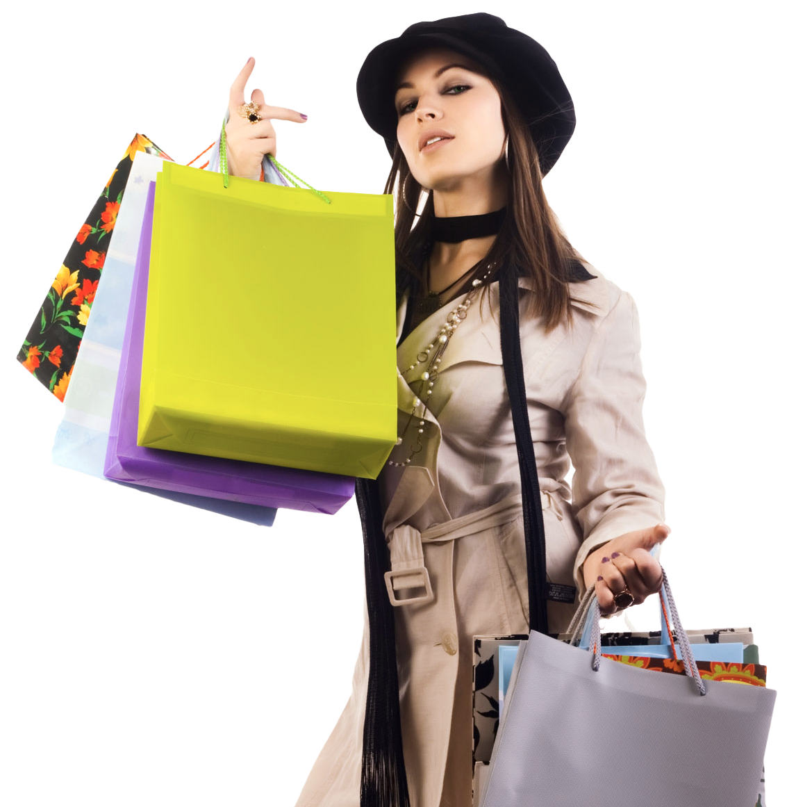 Girls Shopping PNG HD-PlusPNG.com-1133 - Girls Shopping PNG HD