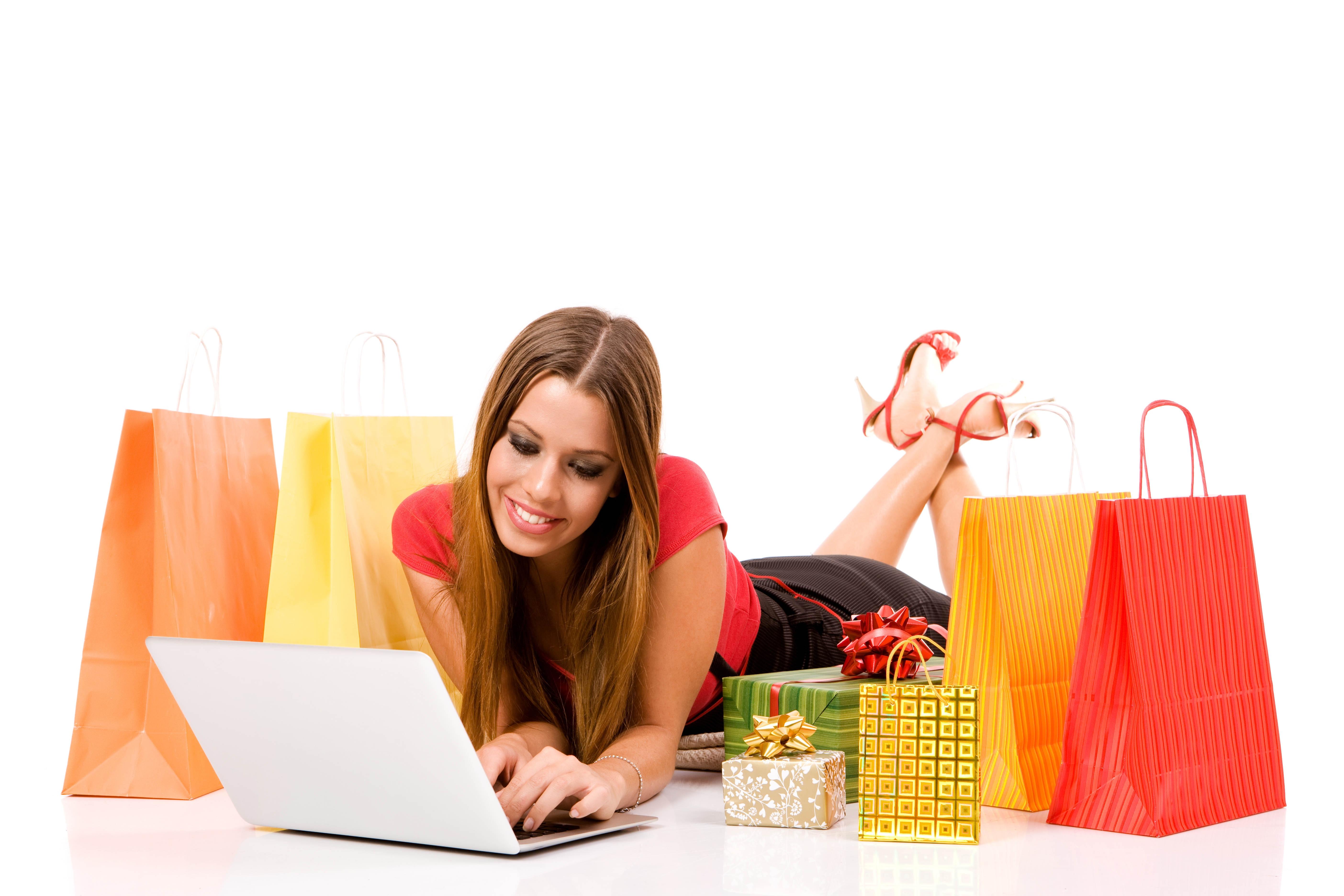Girls Shopping PNG HD - 120940