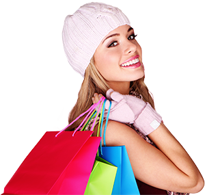 Let us take care of everything with our Concierge Service. - Girls Shopping PNG HD