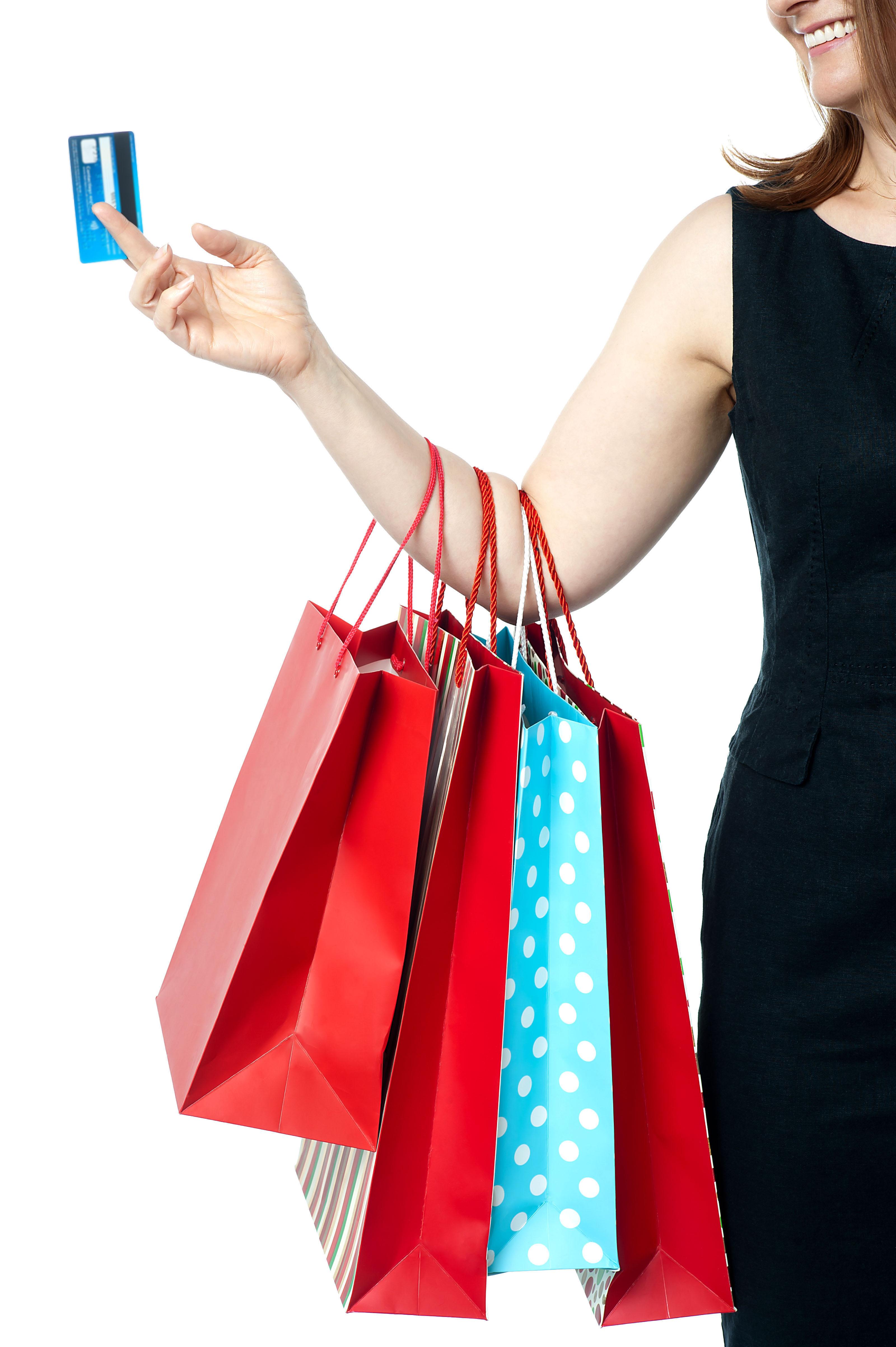 Girls Shopping PNG HD - 120938