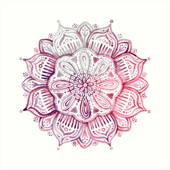 Girly Mandala PNG - 164618