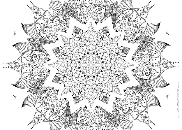Girly Mandala PNG - 164628