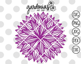 Girly Mandala PNG - 164634