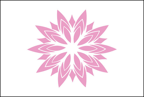 Girly Mandala PNG - 164616