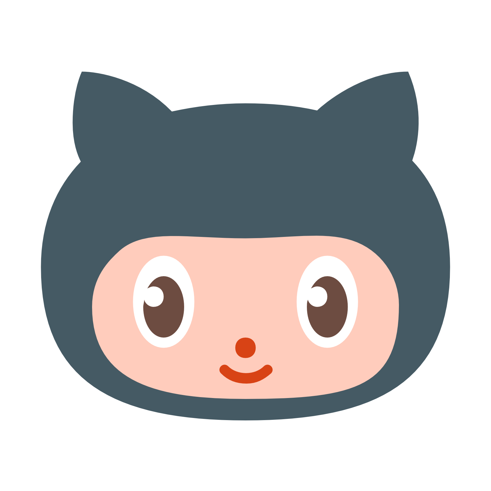 Octocat Icon. PNG 50 px - Github Octocat Logo PNG