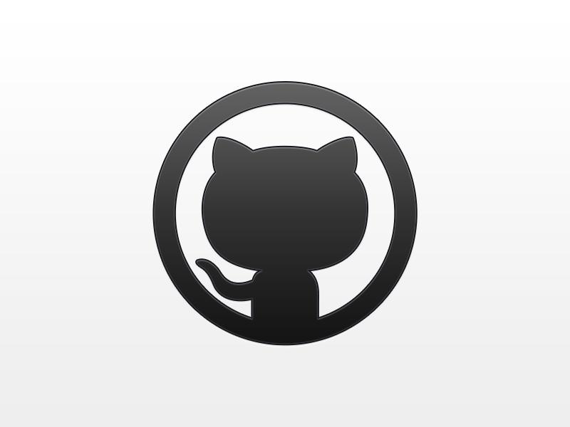 Github Octocat Logo Vector PNG - 37984