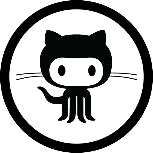 Github Octocat Logo Vector PNG - 37991