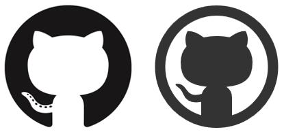 Github Octocat Logo Vector PNG - 37983