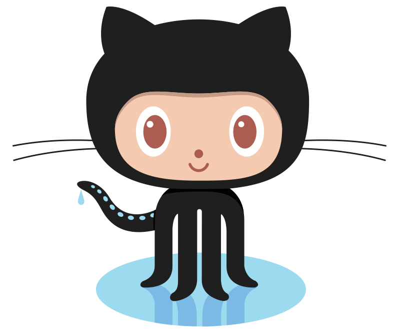 Github Octocat Vector PNG
