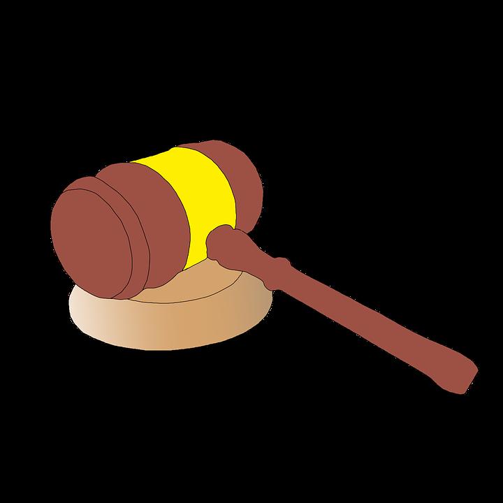 Martelletto, Martello, Giudice, Giustizia, Corte, Legge - Giudice PNG