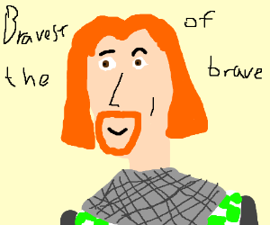 Brave Sir Robin - Giutine PNG