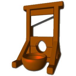 Guillotine Icon - Giutine PNG