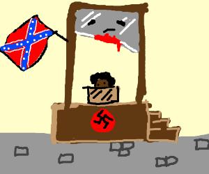 racist guillotine - Giutine PNG