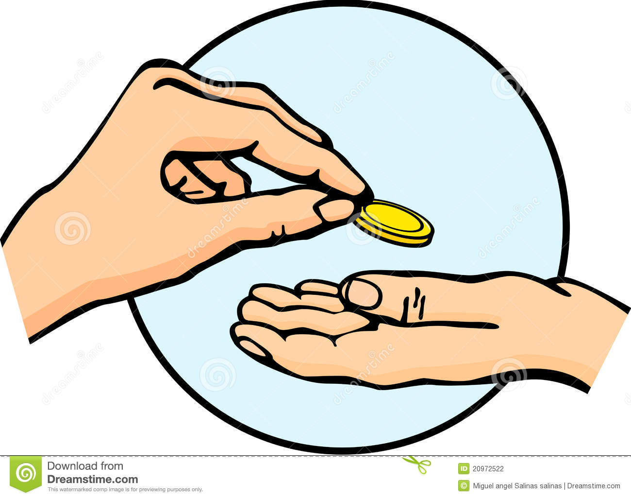 Coin clipart money change - Giving To The Poor PNG