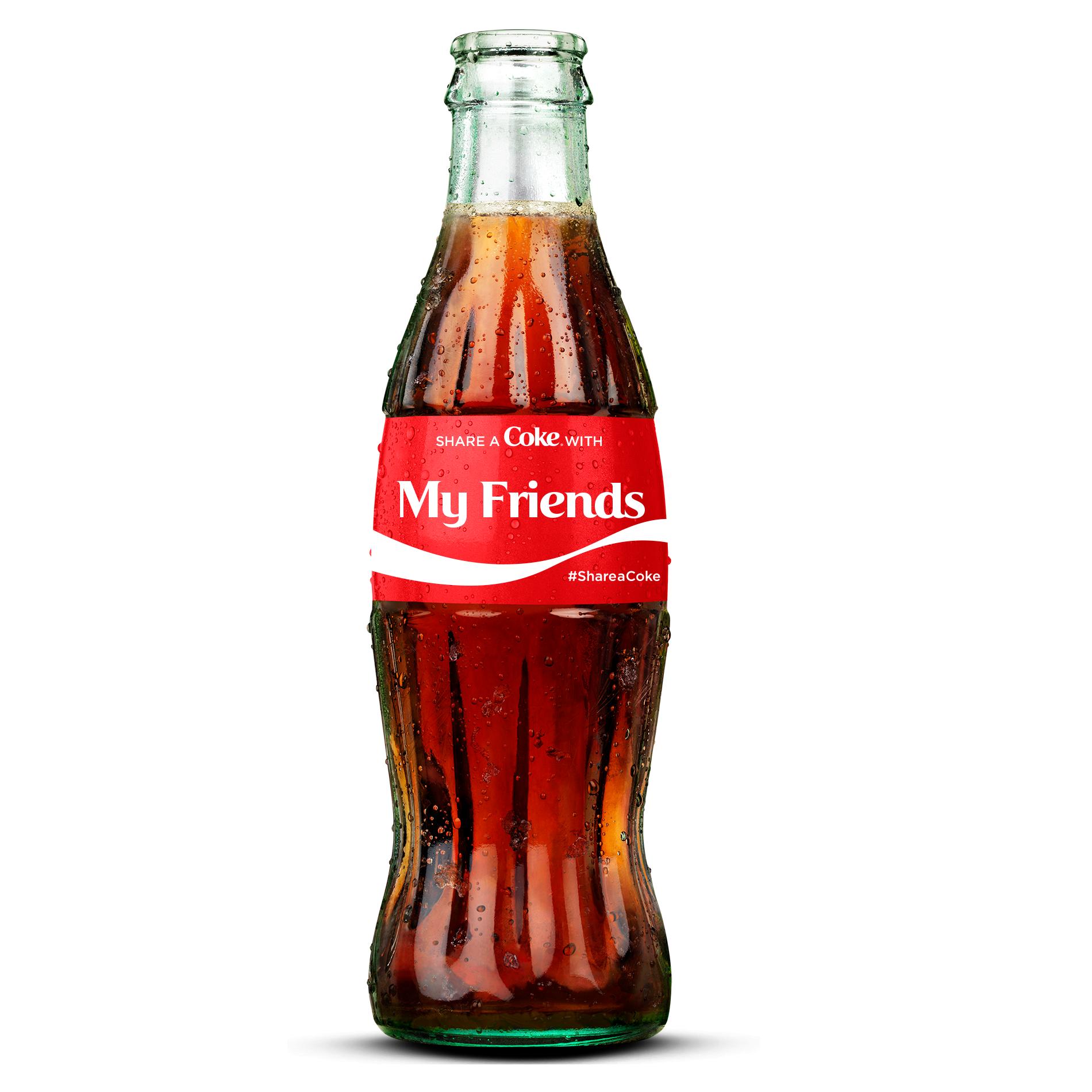 Glass Soda Bottle PNG - 163158