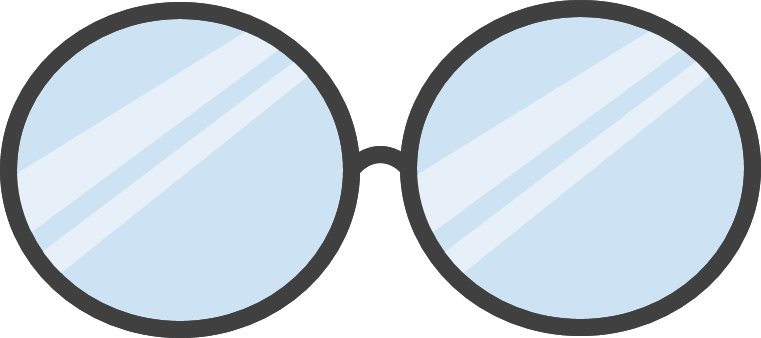DP Glasses.png - Glasses PNG