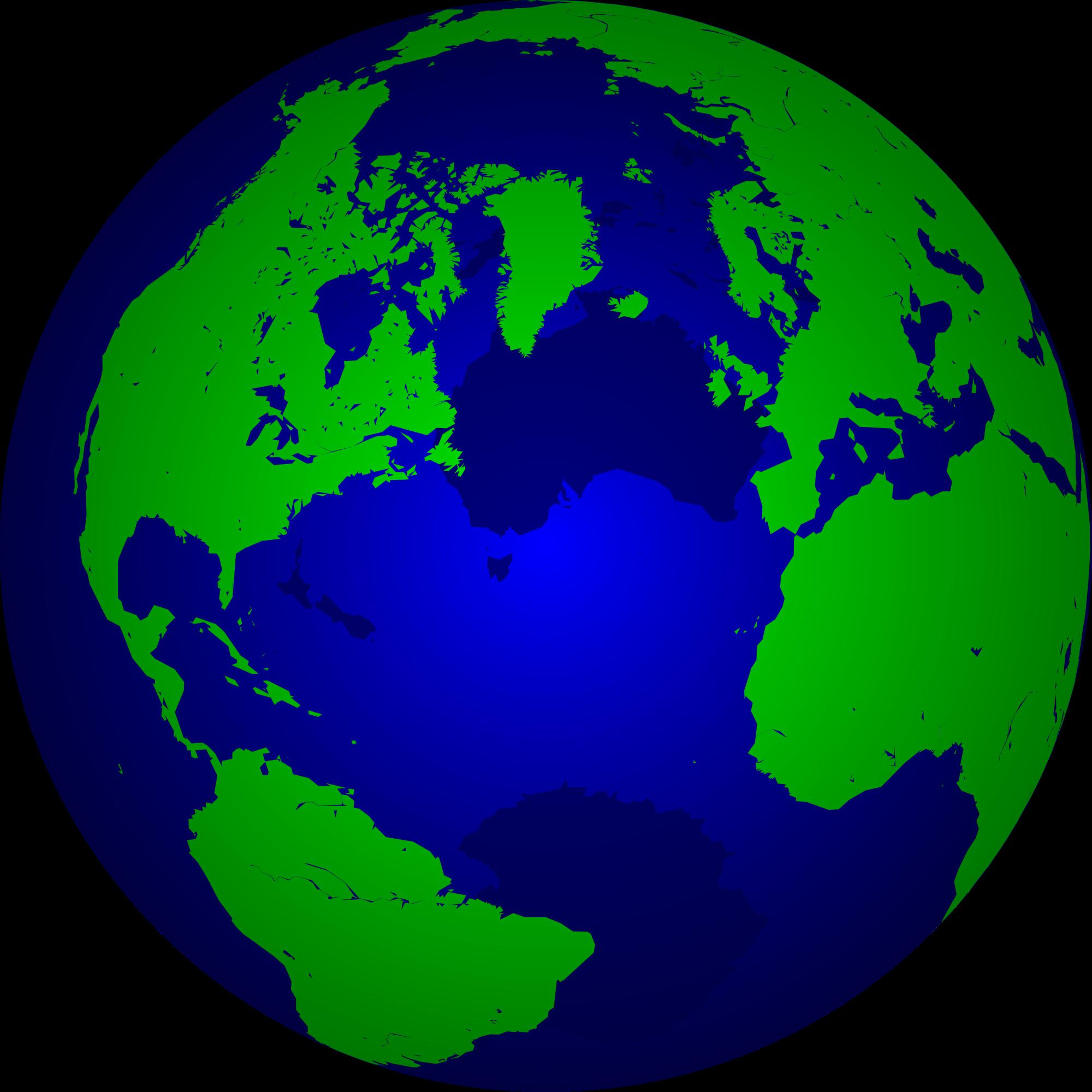 New SVG image - Globe PNG
