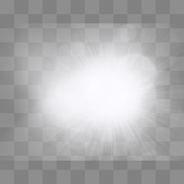 Glow PNG Black And White - 157479