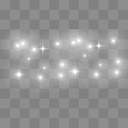 lights glow, Light Effects, Glow, Flash PNG Image and Clipart - Glow PNG Black And White