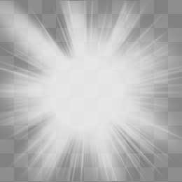 Glow PNG Black And White - 157485