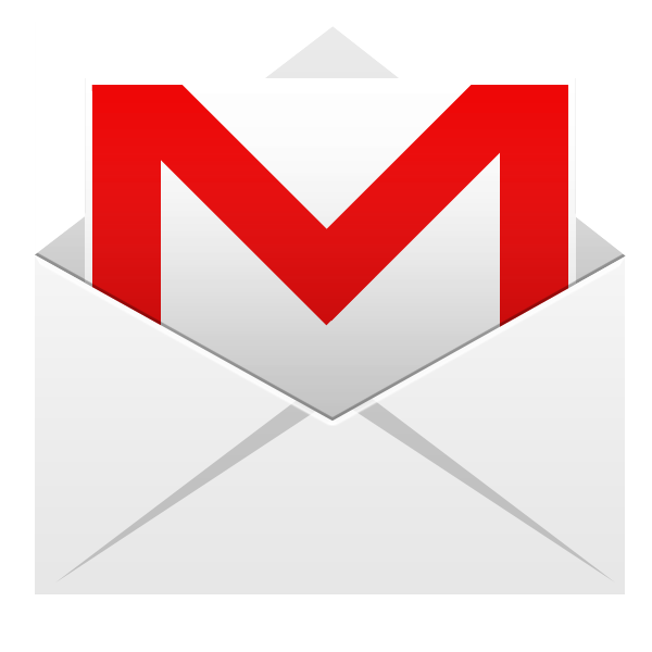 Gmail Icon 600x600 png - Gmail Vector PNG