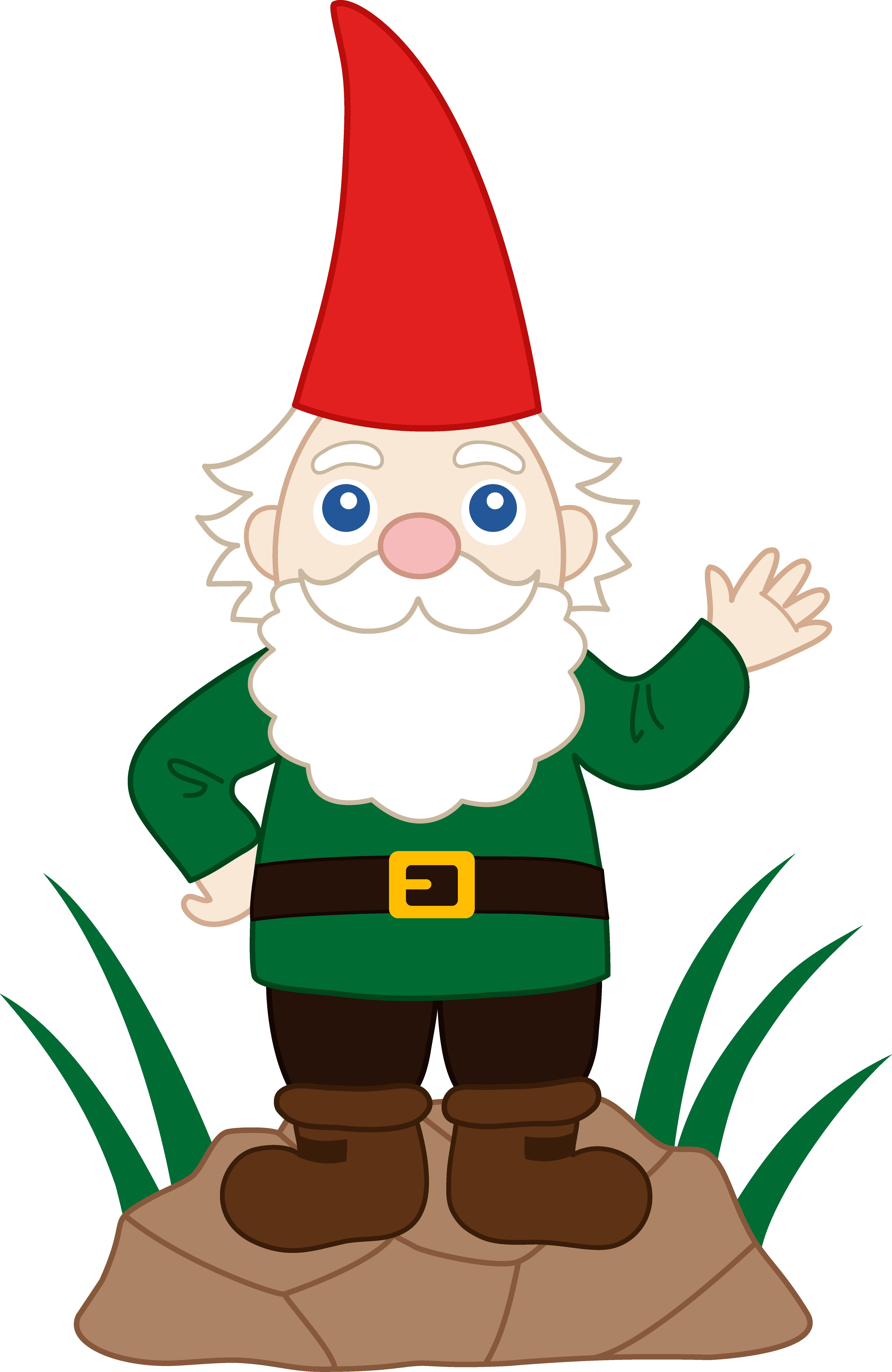 Friendly Garden Gnome - Free Clip Art - Gnome HD PNG