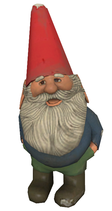 Gnome model.png - Gnome HD PNG